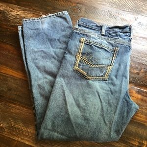 Ariat. Men's low rise straight leg jeans 40 x 32